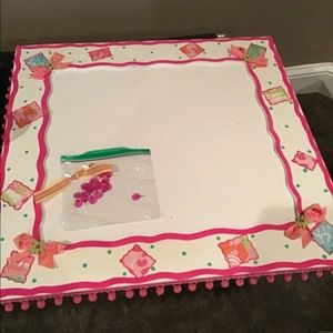 Giant bulletin board picture board lilly Pulitzer